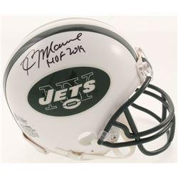 "Kevin Mawae Signed New York Jets Mini Helmet Inscribed ""HOF 2019"" (Beckett COA)"