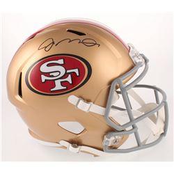 Joe Montana Signed San Francisco 49ers Full-Size Speed Helmet (Beckett COA)