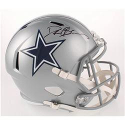 Deion Sanders Signed Dallas Cowboys Full-Size Speed Helmet (Beckett COA)