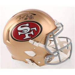Jerry Rice Signed San Francisco 49ers Full-Size Authentic On-Field Speed Helmet (Beckett COA)