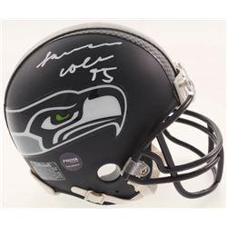 L. J. Collier Signed Seattle Seahawks Mini Helmet (Prova COA)