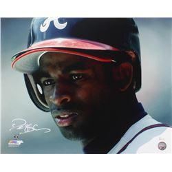 Deion Sanders Signed Atlanta Braves 16x20 Photo (JSA Hologram)