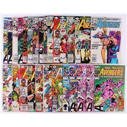 "Lot of (27) 1979-84 ""The Avengers"" Issues #189-#247 Marvel Comic Books"