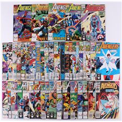 "Lot of (45) 1979-95 ""The Avengers"" Issues #188-#382 Marvel Comic Books"