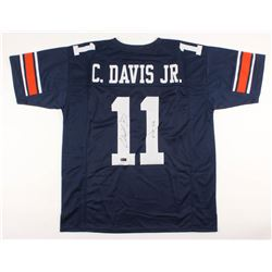 "Chris Davis Signed Jersey Inscribed ""Kick Six"" (Radtke COA)"