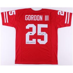 "Melvin Gordon Signed Jersey Inscribed ""Flash Gordon"" (Radtke COA)"