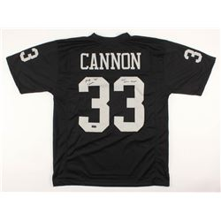"Billy Cannon Signed Jersey Inscribed ""1967 A.F.L. Champs"" (Radtke COA)"