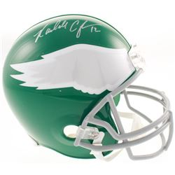 Randall Cunningham Signed Philadelphia Eagles Full-Size Throwback Helmet (JSA COA)