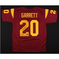 "Mike Garrett Signed Jersey Inscribed ""'65 Heisman"" (Radtke COA)"