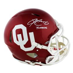 "Kyler Murray Signed Oklahoma Sooners Full-Size Authentic On-Field Speed Helmet Inscribed ""18' Heisma"