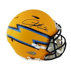 LaDainian Tomlinson Signed San Diego Chargers Full-Size Authentic On-Field Speed AMP Helmet (Radtke