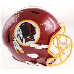 "DeAngelo Hall Signed Washington Redskins Full-Size Speed Helmet Inscribed ""The Hall Monitor"" (Radtke"