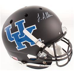 Josh Allen Signed Kentucky Wildcats Full-Size Matte Black Helmet (Radtke COA)