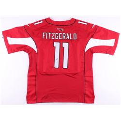 Larry Fitzgerald Signed Arizona Cardinals Jersey (PSA COA)