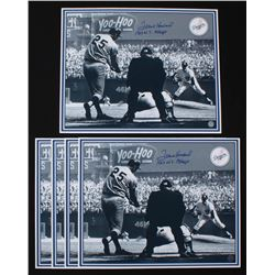 """Lot of (5) Frank Howard Signed Los Angeles Dodgers 16x20 Photos Inscribed """"1963 W.S. Champs"""" (Tracy"""