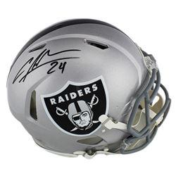 Charles Woodson Signed Oakland Raiders Full-Size Authentic On-Field Speed Helmet (Radtke COA)