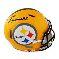 Terry Bradshaw Signed Pittsburgh Steelers Full-Size Authentic On-Field Speed Helmet (Radtke COA)