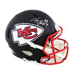Tony Gonzalez Signed Kansas City Chiefs Full-Size Authentic On-Field Speed Helmet (Radtke COA)