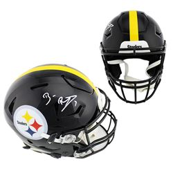 Ben Roethlisberger Signed Pittsburgh Steelers Full-Size Authentic On-Field SpeedFlex Helmet (Beckett