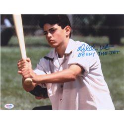 "Mike Vitar Signed ""The Sandlot"" 11x14 Photo Inscribed ""Benny the Jet"" (PSA Hologram)"