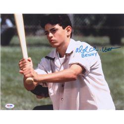 "Mike Vitar Signed ""The Sandlot"" 11x14 Photo Inscribed ""Benny"" (PSA Hologram)"