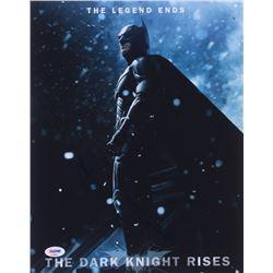 "Christian Bale Signed ""The Dark Knight Rises"" 11x14 Photo (PSA COA)"