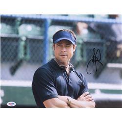 "Brad Pitt Signed ""Moneyball"" 11x14 Photo (PSA COA)"