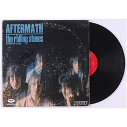 "Keith Richards Signed The Rolling Stones ""Aftermath"" Vinyl Record Album (PSA LOA)"
