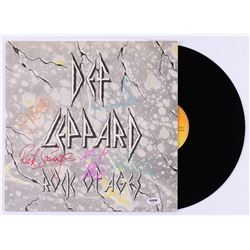"Def Leppard ""Rock of Ages"" Vinyl Record Album Band-Signed by (5) with Phil Collen, Rick Allen, Rick"