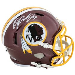 Dwayne Haskins Signed Washington Redskins Full-Size Speed Helmet (Beckett COA)