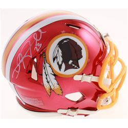 DeAngelo Hall Signed Washington Redskins Chrome Speed Mini-Helmet (Radtke COA)