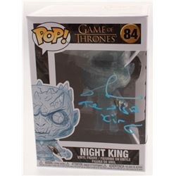 "Richard Brake Signed ""Game of Thrones"" #84 Night King Funko Pop! Vinyl Figure Inscribed ""The Night K"