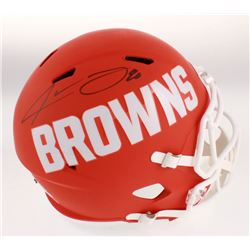 Jarvis Landry Signed Cleveland Browns Full-Size AMP Alternate Speed Helmet (JSA COA)
