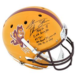 Jake Plummer Signed Arizona State Sun Devils Full-Size Helmet with Multiple Career Stat Inscriptions