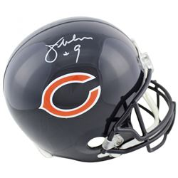 Jim McMahon Signed Chicago Bears Full-Size Helmet (Beckett COA)