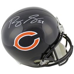 Roquan Smith Signed Chicago Bears Full-Size Helmet (Beckett COA)