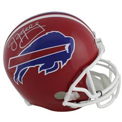 Jim Kelly Signed Buffalo Bills Full-Size Helmet (Beckett COA)