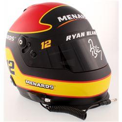 Ryan Blaney Signed NASCAR Menards Full-Size Helmet (PA COA)