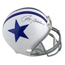 Roger Staubach Signed Dallas Cowboys Throwback Full-Size Helmet (Beckett COA)