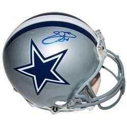Emmitt Smith Signed Dallas Cowboys Authentic On-Field Full-Size Helmet (Beckett COA)