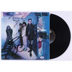 "Rick Nielsen, Robin Zander  Bun E. Carlos Signed Cheap Trick ""All Shook Up"" Vinyl Record Album (PSA"