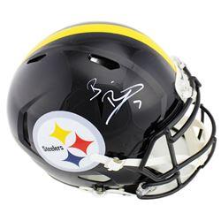 Ben Roethlisberger Signed Pittsburgh Steelers Full-Size Authentic On-Field Speed Helmet (Beckett COA