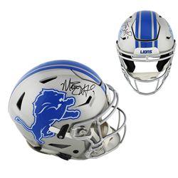 Matthew Stafford Signed Detroit Lions Full-Size Authentic On-Field SpeedFlex Helmet (Fanatics Hologr
