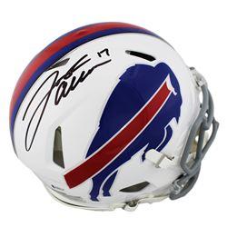 Josh Allen Signed Buffalo Bills Full-Size Authentic On-Field Speed Helmet (Beckett COA)
