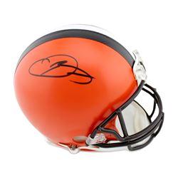 Odell Beckham Jr. Signed Cleveland Browns Full-Size Authentic On-Field Helmet (Radtke COA)