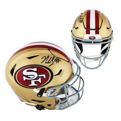Nick Bosa Signed San Francisco 49ers Full-Size Authentic On-Field SpeedFlex Helmet (Radtke COA)