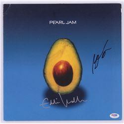 "Eddie Vedder  Matt Cameron Signed Pearl Jam ""Pearl Jam"" Vinyl Record Album (PSA Hologram)"