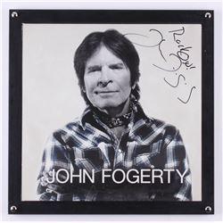 """John Fogerty Signed """"Wrote a Song for Everyone"""" 14.25x14.25 Custom Framed Vinyl Record Album Cover D"""