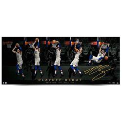 "Ben Simmons Signed Philadelphia 76ers ""Playoff Jam"" 18x44 LE Photo (UDA COA)"