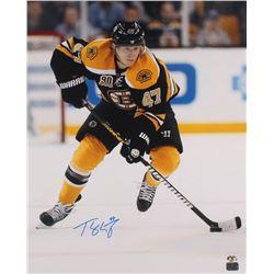 Torey Krug Signed Boston Bruins 16x20 Photo (Krug Hologram)